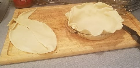 chicken meant pie crust cut circle (2)