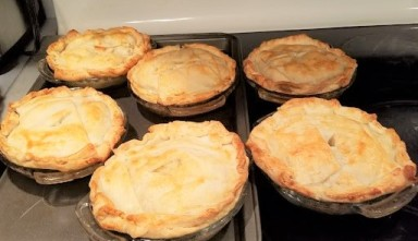 chicken meat pies baked (2)