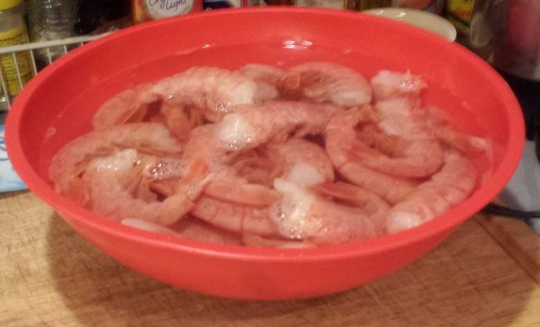 shrimp thawing (2)